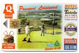 """Ancienne Carte à Puce Passeport """" LOISINORD"""" / QUICK  (Voir Photos Recto/verso Et Description) - Otros"""