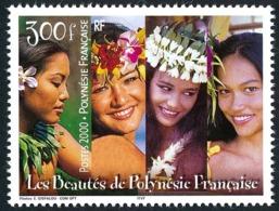 POLYNESIE 2000 - Yv. 618 ** TB  Faciale= 2,52 EUR - Beautés Polynésiennes  ..Réf.POL25268 - Polinesia Francesa