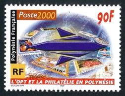 POLYNESIE 2000 - Yv. 613 ** TB  Faciale= 0,76 EUR - L'OPT Et La Philatélie  ..Réf.POL25266 - Polinesia Francesa