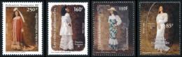 POLYNESIE 2000 - Yv. 619 à 622 ** TB  Faciale= 4,16 EUR - Robes Traditionnelles (4 Val.)  ..Réf.POL25269 - Polinesia Francesa