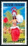 POLYNESIE 1977 - Yv. PA 124 **   Cote= 3,70 EUR - Danseuse De Tahiti  ..Réf.POL25182 - Aéreo