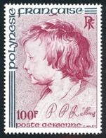 POLYNESIE 1977 - Yv. PA 129 **   Cote= 13,00 EUR - Rubens  ..Réf.POL25186 - Aéreo