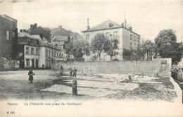 Belgique - Namur - Les Laveuses - La Citadelle Vue Prise Du Confluent - Namur