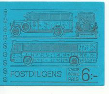 ZWEDEN POSTZEGELBOEKJE POST OMNIBUS UITGAVE 1973 - Carnets