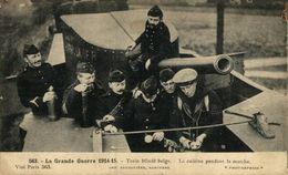MILITARIA - 1914-1918 - Train Blindé Belge  1914-18  WWI WWICOLLECTION - Guerre 1914-18