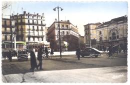 CPSM PF Algérie - CONSTANTINE - 211. Place Général Leclerc - Animée - Constantine