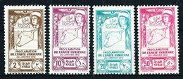 Siria (Francesa) Nº A-97/100(*) Cat.13€ - Syrie (1919-1945)