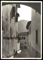 ALTE KARTE LEVICO TERME GASSE Löweneck Trento Trentino Südtirol Italien Italia Italy Ansichtskarte Cpa Postcard AK - Trento