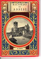 Ricordo Di Assisi 32 Vedute Monument 1950 - Collections