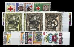 1964, Guatemala, 718-21 U.a., ** - Guatemala