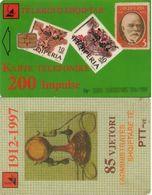 TARJETA TELEFONICA DE ALBANIA. 01.99 (011) - Albania