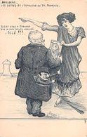 Illustrateur  ORENS - BOULOGNE,les Suites De L'expulsion Du TH.Français. Allez Dire à Edouard Que Je Suis ..... - Orens