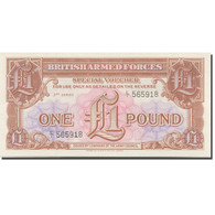 Billet, Grande-Bretagne, 1 Pound, Undated 1956, KM:M29, NEUF - Forze Armate Britanniche & Docuementi Speciali