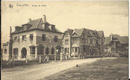 Coq S/Mer (De Haan A/Zee) - Groupe De Villas 1929 - Griffe Linéaire, Lijnstempel - De Haan