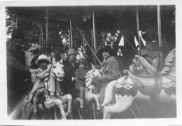VERNEUIL SUR AVRE FETE FORRAINE 1927 PHOTO ORIGINALE 8.50  X 6.50 CM - Orte