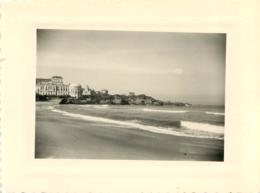 BIARRITZ 1951 PHOTO ORIGINALE  11 X 8 CM - Orte