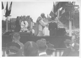 LOCHES 1941 PHOTO IMBERT  PHOTO ORIGINALE  12 X 8.50 CM - Orte