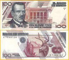 Mexico 100 Pesos P-98 1992 (Serie Q) UNC Banknote - Mexique