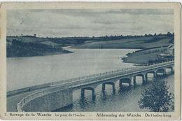 Barrage De La Warche.   -   Le Pont De Haelen.   -   1933   Naar   St. Amandsberg - Waimes - Weismes