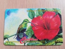 BRITSCH VIRGIN ISLANDS  US$ 5   BVI-25A   HUMMINGBIRD        25CBVA     Fine Used Card   ** 2666** - Vierges (îles)