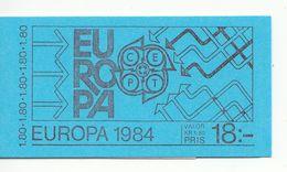 ZWEDEN POSTZEGELBOEKJE EUROPA  UITGAVE 1980 - Carnets