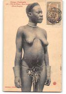 CPA Congo Français Collection J. Audema Fille De N'Gara Race Pandé - Scarification - Congo Français - Autres