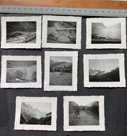 8 Photos Göschenen Furka Oberalp Selva Altes Dorf (abgebrannt 1949) - Orte