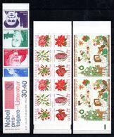 H1-14 Lot De 3 Carnets ** Complets De Suède - Boekjes