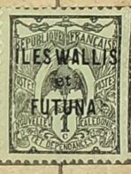 ILES WALLIS ET FUTUNA-USED STAMP - Wallis And Futuna