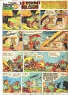 """PLANCHE """" ASTERIX Et OBELIX """"  """" LE COMBAT DES CHEFS   """"   1965 ( 5 ) - Objets Publicitaires"""