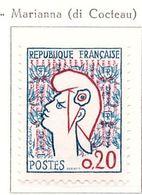 PIA - FRA - 1961 :  Marianna Di Cocteau - (Yv  1282) - 1961 Marianne De Cocteau