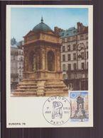 "France, Carte Maximum Du 6 Mai 1978 à Paris "" Europa "" - Cartes-Maximum"