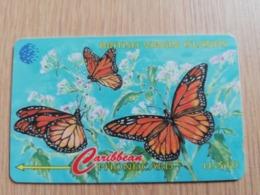 BRITSCH VIRGIN ISLANDS  US$ 10  BVI-67B   BUTTERFLY    67CBVB     Fine Used Card   ** 2683** - Vierges (îles)