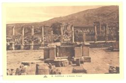 CPA ALGERIE - DJEMILA - 10. L'ancien Forum - Algérie