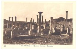 CPA ALGERIE - DJEMILA - 12. Quartier Chrétien - Baptistère - Algeria