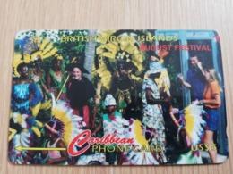 BRITSCH VIRGIN ISLANDS  US$ 5  BVI-171D   AUGUST FESTIVAL    171CBVD     Fine Used Card   ** 2688** - Vierges (îles)