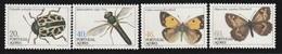 Açores - N° 358/61 **  (1985)  Insectes - Azores
