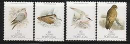 Açores - N° 381/4 **  (1988) Oiseaux - Azores
