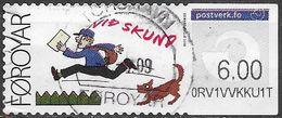 Féroé - Distributeur  Y&T N° 4 - Oblitéré - Faroe Islands