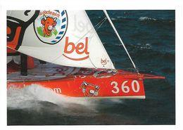 CPM - édit. LVQR - Mer & Emotion - Bateau Du Groupe BEL - Skipper Kito De Pavant - Voiliers