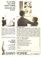 """PUB VICHY-SAINT-YORRE Et  """" ASTERIX Et OBELIX   """"  1965 ( 1 ) - Livres, BD, Revues"""