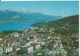 ANNECY      (  HAUTE SAVOIE )    LA VILLE _ LE LAC ET SES MONTAGNES - Annecy