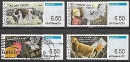 Féroé - Distributeur - Série Complète - Oblitérés - Lot 218 - Faroe Islands