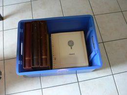 France - LINDNER - Albums Et Pages Préimprimées  - 1955 à 2004 + Fin De Catalogue - Collections (with Albums)