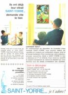 """PUB VICHY-SAINT-YORRE Et  """" ASTERIX Et OBELIX   """"  1965 ( 2 ) - Livres, BD, Revues"""