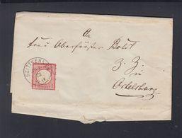 Dt Reich Polen Poland Brief 1873 Szittkehmen Żytkiejmy - Germania
