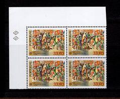1564 CEPT Historische Ereignisse ER 4er Block O.  Links Neuf MNH ** Postfrisch - 1910-... Republik