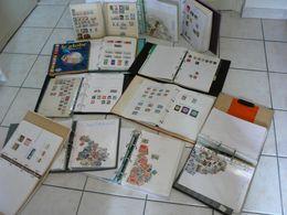 MONDE Et Colonies Françaises - Belle Accumulation De Timbres En 10 Albums - Départ 1 Euro - Plus De 1000 Photos !!! - Stamps