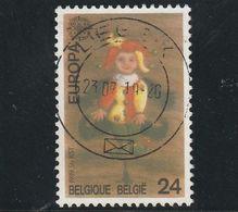 Belgique Oblitéré  1989  N° 2324  Europa.  Le Pantin - Used Stamps