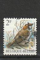 Belgique Oblitéré  1989  N° 2348    Série Oiseaux.  Moineau Friquet - Used Stamps